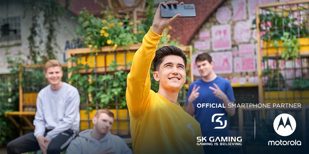 SK Gaming & Motorola support Mobile Esports