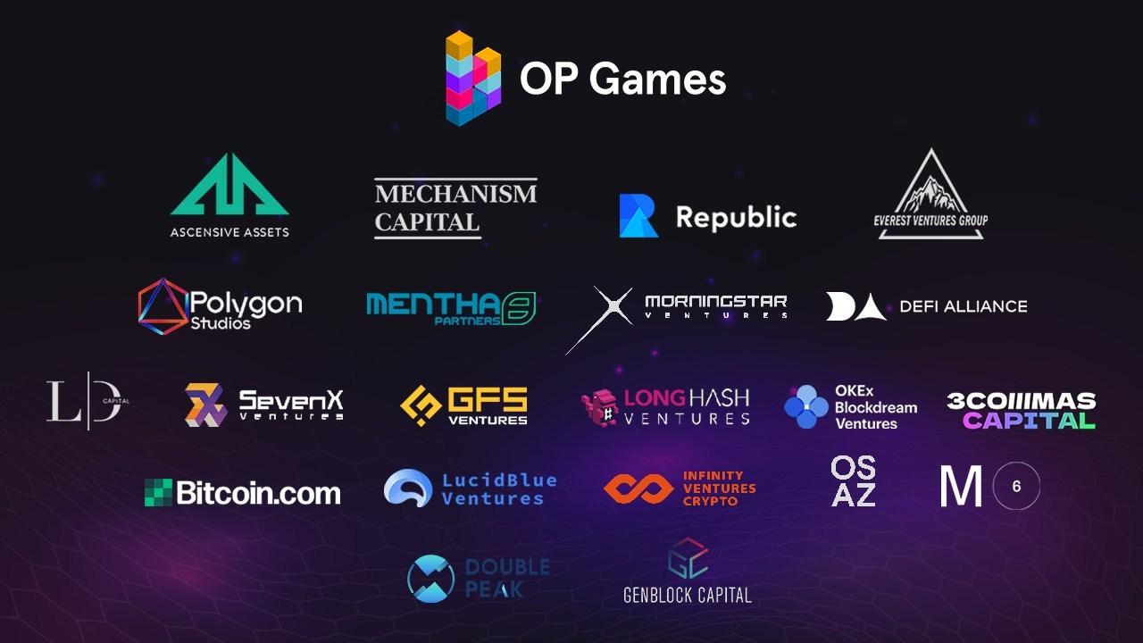 Gaming Platform OP Games Raises $8.6m To Bridge Game Developers To Web 3.0